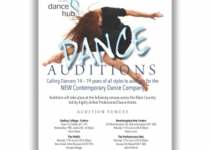 Dance Audition Flyer