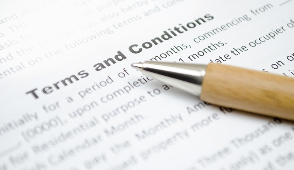 Web Terms & Conditions