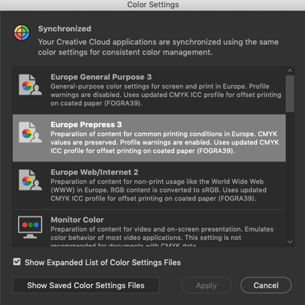 what is dot gain adobe bridge colour setting