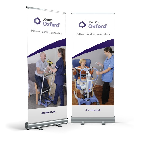 low cost roller banner