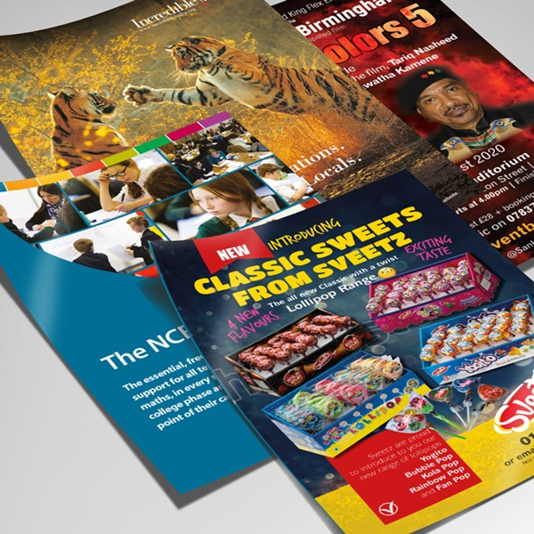 Promotional Flyers from Pre Press